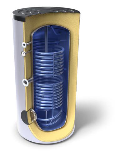 Bojleri velike litraže za sanitarnu toplu vodu s dva izmjenjivača topline razred energetske učinkovitosti А