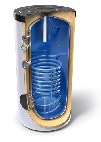 Bojleri velike litraže za podnu montažu s izmjenjivačem topline