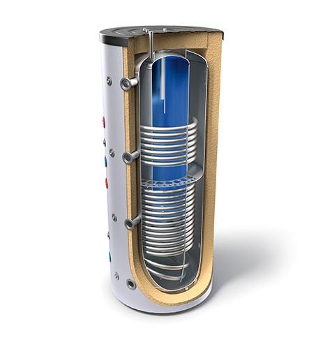 "Kombinirani bojleri velike litraže za centralno grijanje instalacije i sanitarnu toplu vodu tipa ""tank in tank"" s dva izmjenjivača topline"